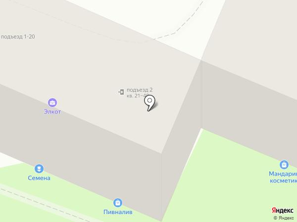 Магазин швейной фурнитуры на карте Владивостока