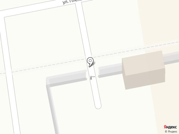 Автостоянка на карте Уссурийска