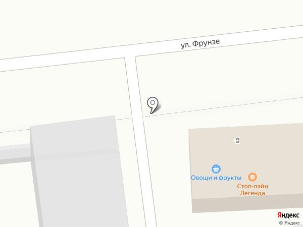 Авоська на карте Уссурийска