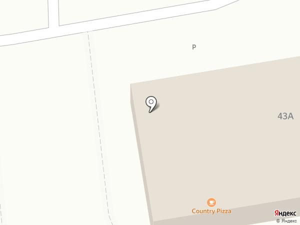 Country Pizza на карте Уссурийска