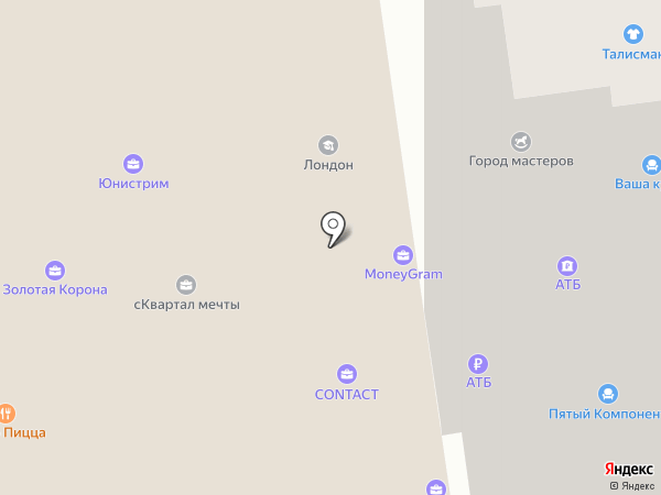 Norwich на карте Уссурийска