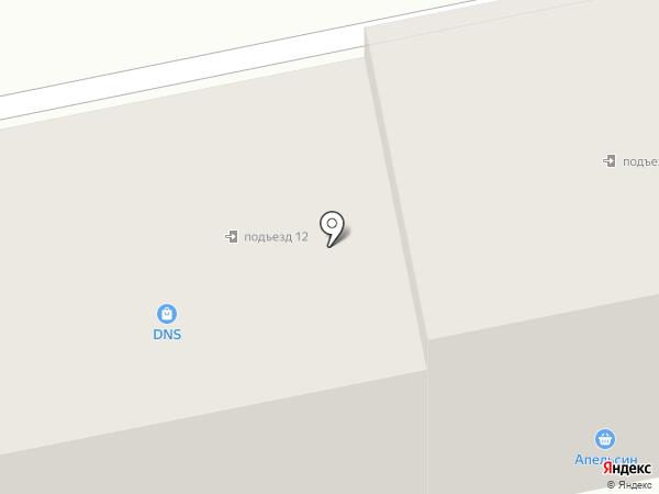 Радуга на карте Уссурийска