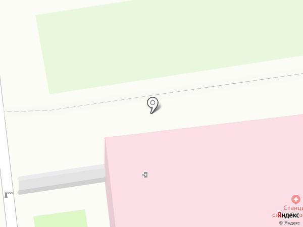 Станция скорой медицинской помощи г. Уссурийска на карте Уссурийска