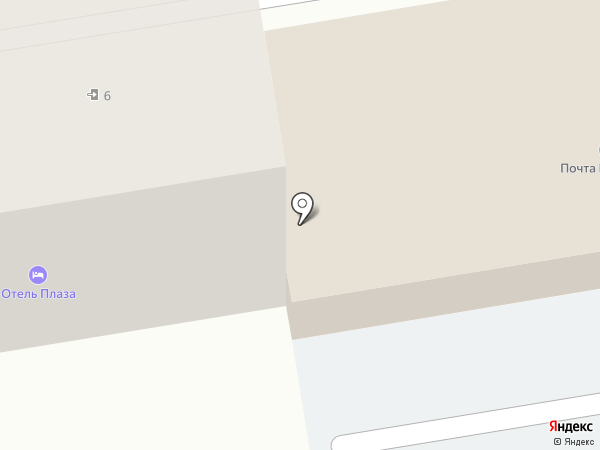 Отделение почтовой связи №25 на карте Уссурийска