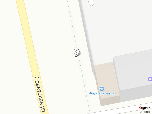 Магазин фруктов на карте Уссурийска