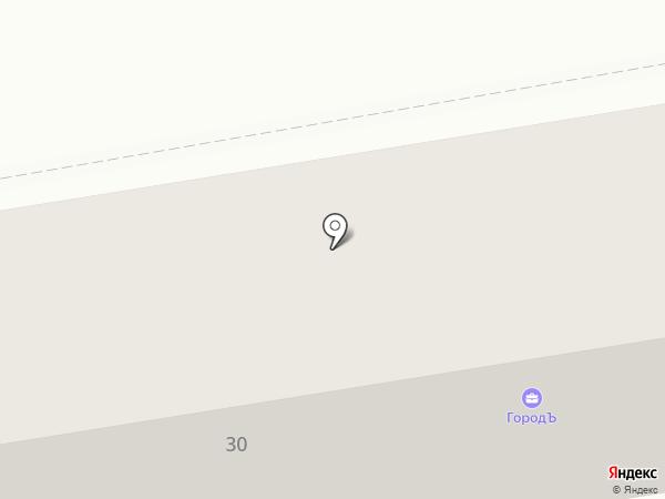 ГородЪ на карте Уссурийска