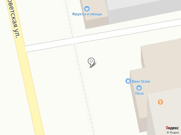 Три богатыря на карте Уссурийска