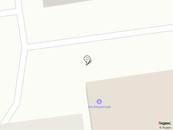 Облик на карте Уссурийска