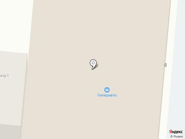 Гиперавто на карте Уссурийска