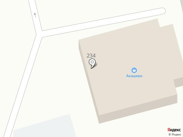 Гарант на карте Уссурийска