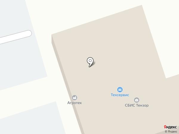 ТИС-Лоджистик на карте Уссурийска