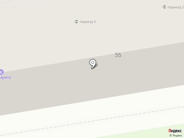 Маргарита на карте Уссурийска