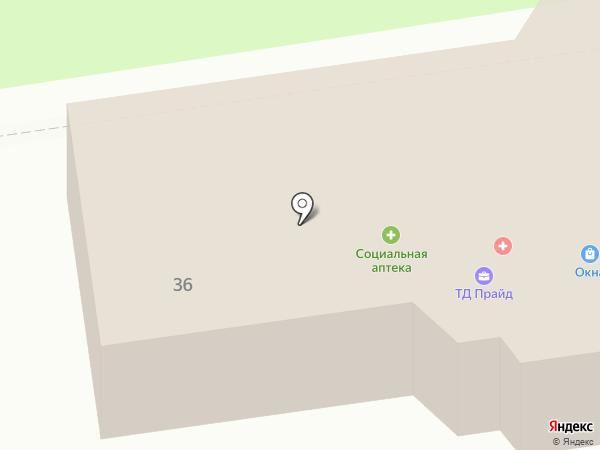 Гранит-Уссурийск на карте Уссурийска