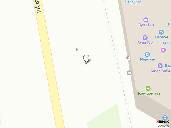 Аристо на карте Уссурийска
