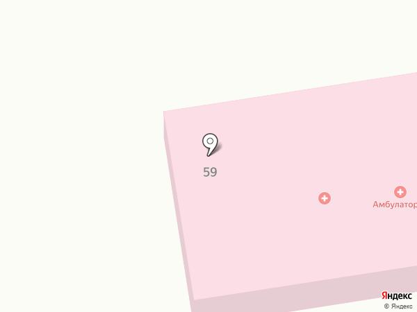 Амбулатория на карте Воздвиженки
