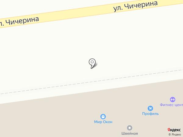 Профиль на карте Уссурийска