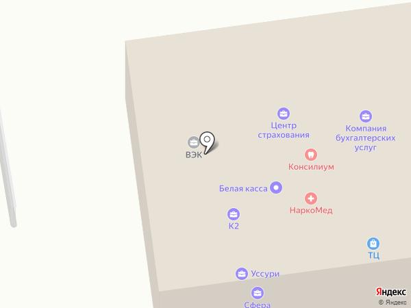 Салюты Приморья на карте Уссурийска