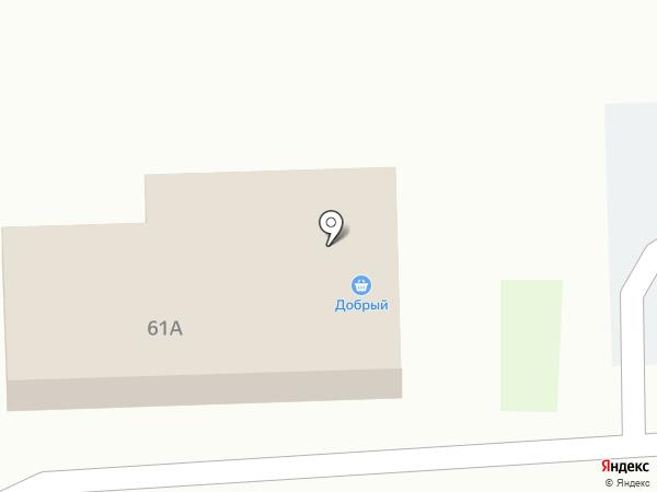 Добрый на карте Воздвиженки
