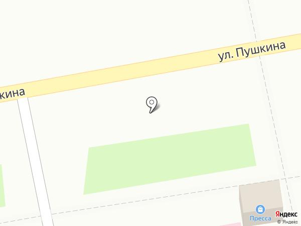 Киоск печатной продукции на карте Уссурийска