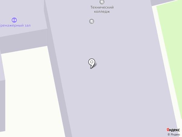 Дальневосточный технический колледж на карте Уссурийска