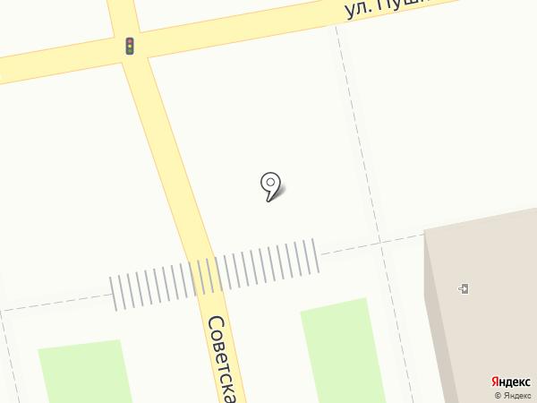 Абстракция на карте Уссурийска
