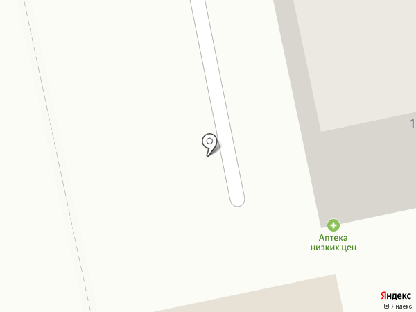Здравница на карте Уссурийска