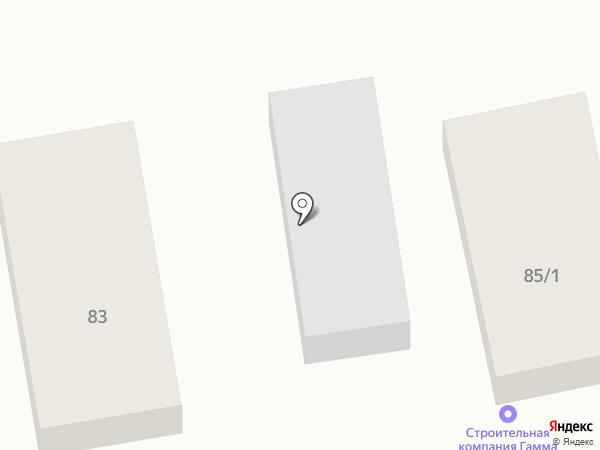 Гамма на карте Уссурийска