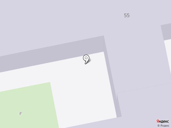 Гимназия №29 на карте Уссурийска