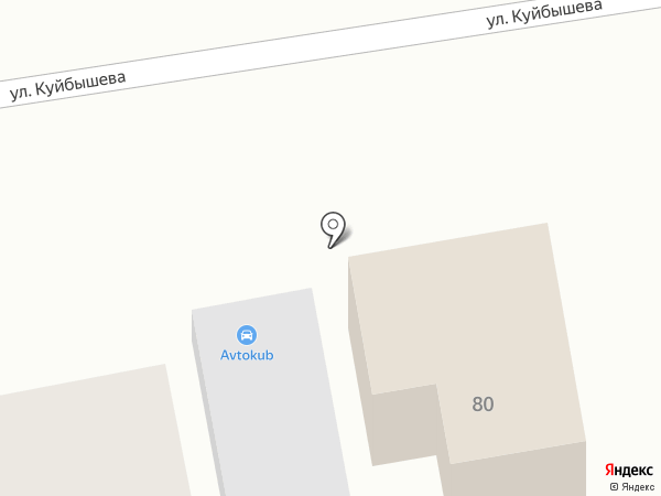 Палитра на карте Уссурийска
