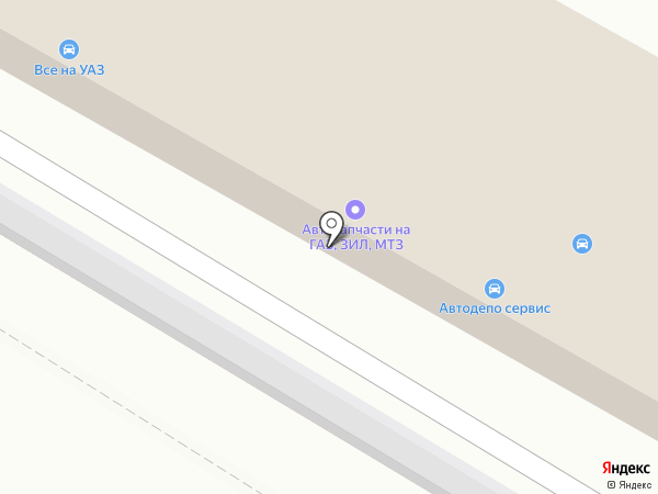 Всё на УАЗ на карте Уссурийска