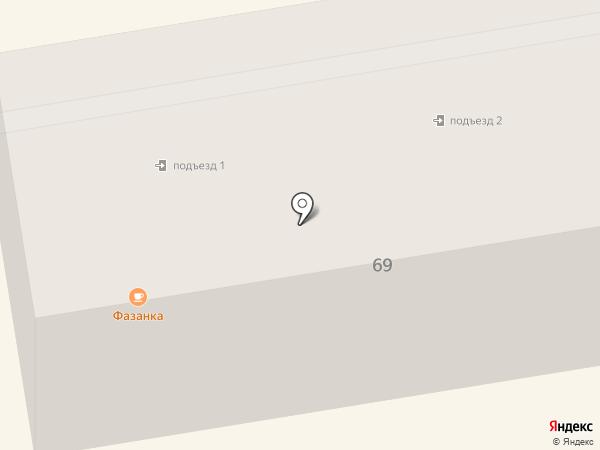 Асклепий на карте Уссурийска