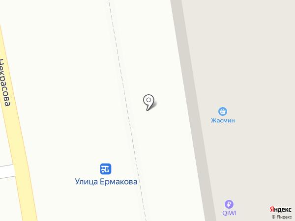Жасмин на карте Уссурийска