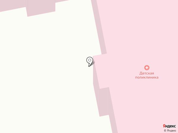 Детская городская поликлиника на карте Уссурийска