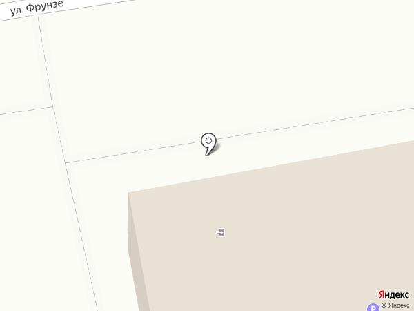 Ригель на карте Уссурийска