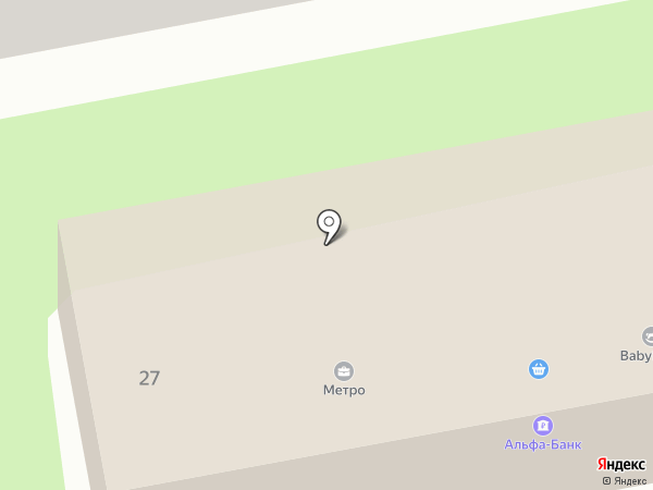 Метро на карте Уссурийска