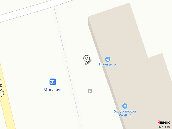 Продуктовый магазин №27 на карте Воздвиженки