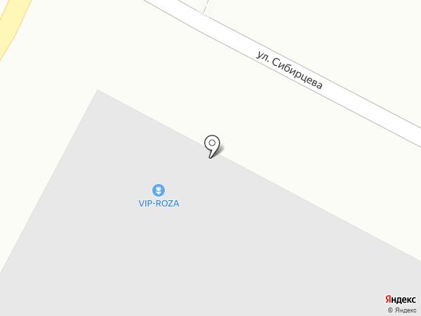 Vip Роза на карте Уссурийска