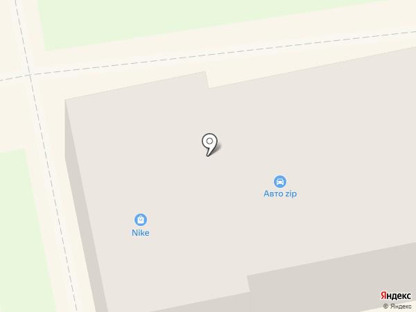 Авто ZIP на карте Уссурийска