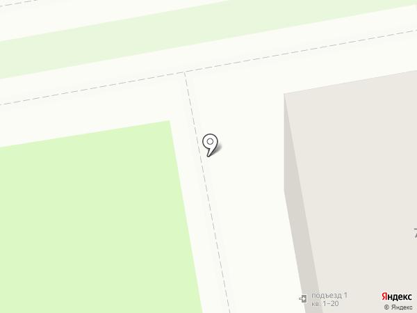 Настенька на карте Уссурийска