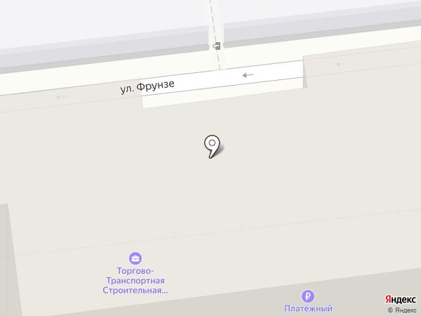 Магазин мебельной фурнитуры на карте Уссурийска