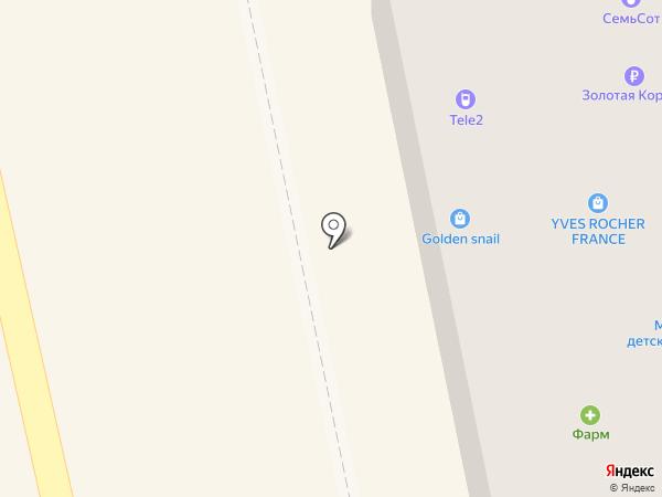 Tele2 на карте Уссурийска