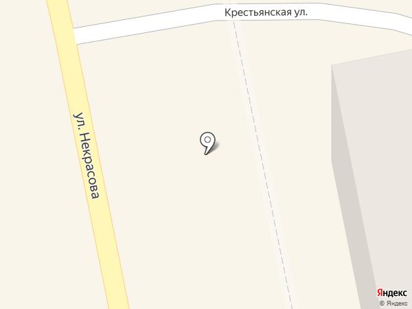 Хлеб из Корсаковки на карте Уссурийска