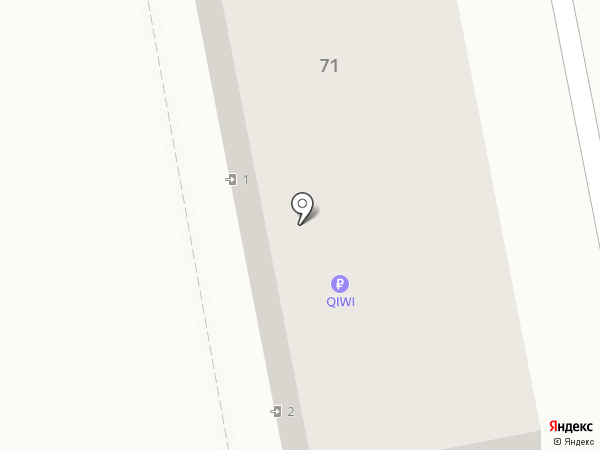 Парикмахерский магазин на карте Уссурийска