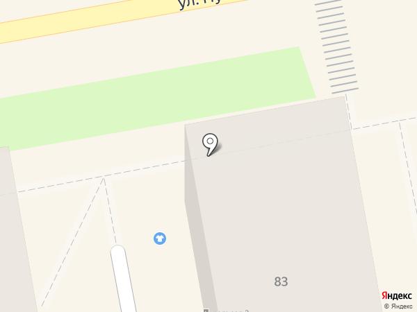Ломбард Приморье+ на карте Уссурийска