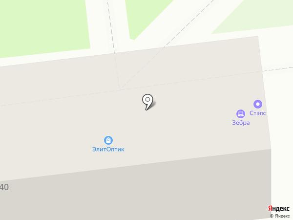 Компания СТЭЛС на карте Уссурийска