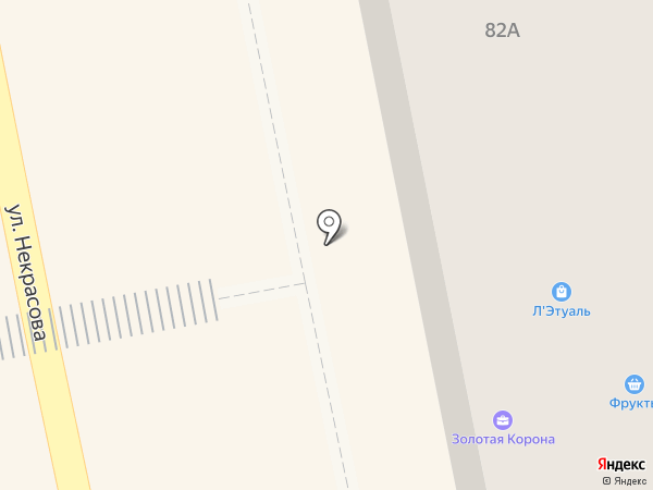 Чудодей на карте Уссурийска