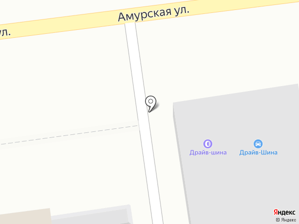 Драйв на карте Уссурийска