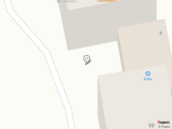 Бэби на карте Уссурийска