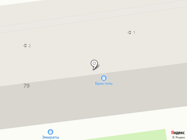 Доярушка на карте Уссурийска