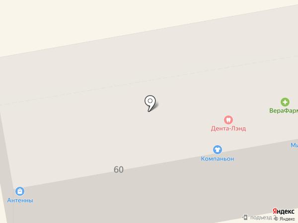 Компаньон на карте Уссурийска